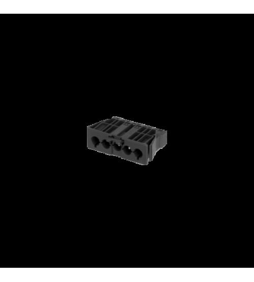 Zásuvka samec GESIS® 5pólový konektor 16A 400V grafitovo-sivá