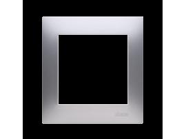 Rámček 1 - násobný pre sadrokartónové krabičky strieborná matná