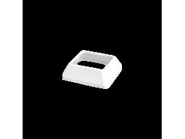 Krycia lišta základne do stĺpikov a ministĺpikov jednostranných ALC (náhradný diel) čisto biela