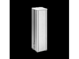 Mini stĺpec dvojstranný ALK štvorcová 285mm 10×K45 hliník