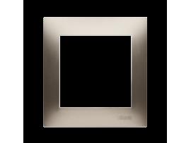 Rámček 1- násobný zlatá matná