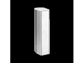 Mini stĺpec dvojstranný ALK oválna 260mm 10×K45 hliník