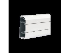 Inštalačný kanál CABLOMAX PVC 130×55mm Počet komôr:3 čisto biela :IK07