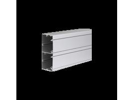 Inštalačný kanál CABLOPLUS ALU 130×55mm Počet komôr:2 dĺ.:2m hliník :IK07