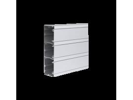 Inštalačný kanál CABLOPLUS ALU 185×55mm Počet komôr:3 dĺ.:2m hliník :IK07