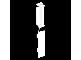 Spevňujúca záslepka CABLOPLUS (v sade s kanálom 90x55 - 4 ks.) čisto biela