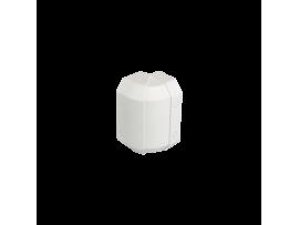Nastaviteľný vonkajší roh CABLOMAX 130×55mm čisto biela