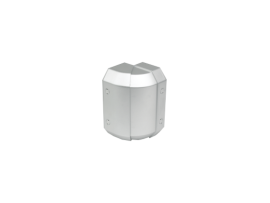 Nastaviteľný vonkajší roh CABLOMAX 170×55mm hliník