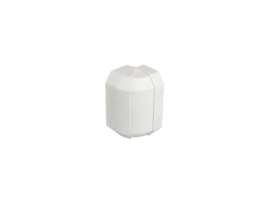 Nastaviteľný vonkajší roh CABLOMAX 210×55mm čisto biela