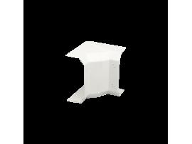 Nastaviteľný vnútorný roh CABLOMAX 130×55mm čisto biela