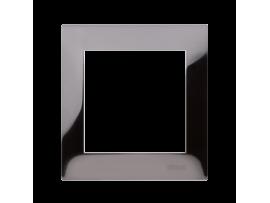 Rámček 1 - násobný kovový tmavá oceľ