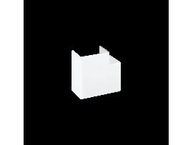Uhol CABLOPLUS 160×55mm čisto biela