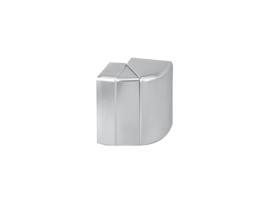 Nastaviteľný vonkajší roh CABLOPLUS 90×55mm hliník