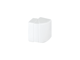 Nastaviteľný vonkajší roh CABLOPLUS 90×55mm čisto biela
