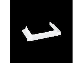 T spojka CABLOPLUS do kanálov 90,130,160,185 výstup 90x55 čisto biela