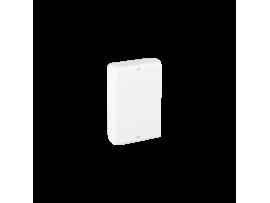 Koncová záslepka CABLOPLUS 160×55mm čisto biela