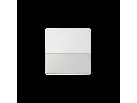 Kryt jednoduchý s popisným poľom pre spínače a tlačidlá