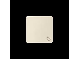 """Jednoduché tlačidlo s piktogramom """"svetlo"""""""