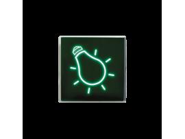 Svetelný kláves zelený