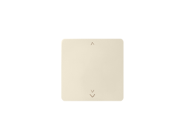 Kláves s piktogramom žalúzie pre bezdrôtový vysielač béžový