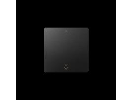 Kláves s piktogramom žalúzie pre bezdrôtový vysielač grafit