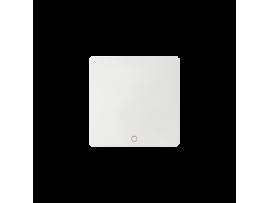 Kláves ON/OFF pre bezdrôtový vysielač biela