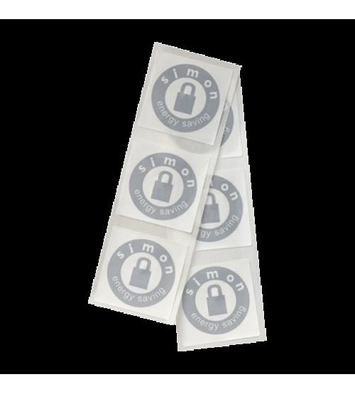 Samolepky na karty pre kódovaný hotelový spínač
