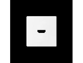 Kryt pre HDMI zásuvka biela