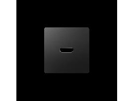 Kryt pre HDMI zásuvka grafit
