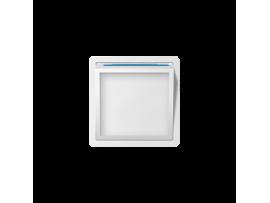 Kryt svietiaceho LED modulu biela
