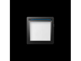 Kryt svietiaceho LED modulu grafit