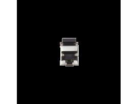 Vklad počítačovej zásuvky RJ45 kat.5e. tienené (FTP) nerezová oceľ