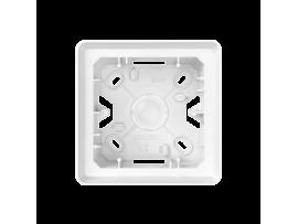 Krabica pre povrchovú montáž 1- násobná biela