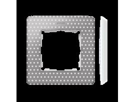 Rámček 1- násobný biela teplá šedá