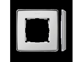Rámček 1- násobný hliník biela