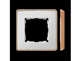 Rámček 1- násobný biela drevo