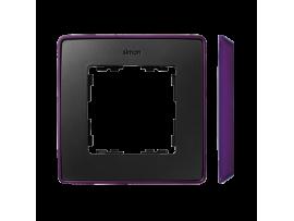 Rámček 1- násobný fialová grafit
