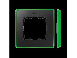 Rámček 1- násobný grafit svetlo zelená