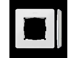 Rámček 1- násobný biela Zákl. farba:šedá
