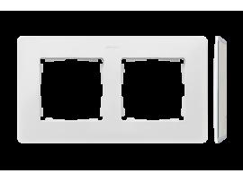 Rámček 2- násobný biela