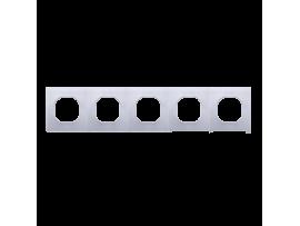 Sada tesnení IP44 pre rámčeky 5-násobné