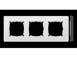 Rámček 3- násobný biela čierny