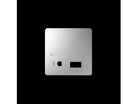Kryt pre prijímač Bluetooth a USB nabíjačku hliník