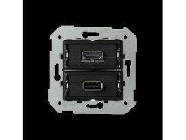 Zásuvka USB + HDMI