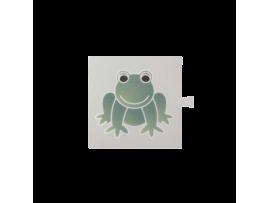 Filter pre bielý svetelný kláves - piktogram Žaba