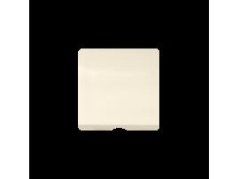 Kryt pre reproduktorové zásuvky / spínač s povrazovým tiahlom béžový