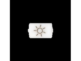 """Biele okno pre 82013 - piktogram """"kúrenie"""""""
