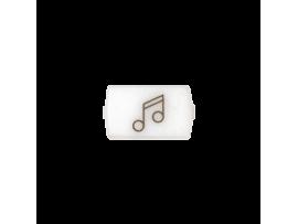 """Biele okno pre 82013 - piktogram """"hudba"""""""