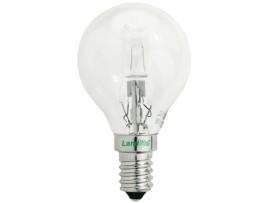 Halogénová žiarovka HSL-G45-28W E14 230V; úsporná