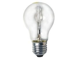 Halogénová žiarovka HSL-A55- 28W E27 230V; stmievatelná